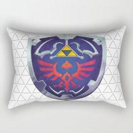 Link - Hyrule Shield - zelda Rectangular Pillow