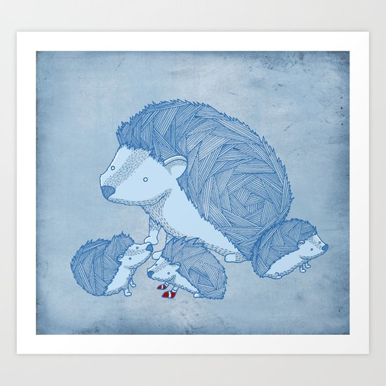 When he was young Art Print
