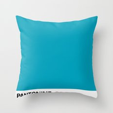 PANTOMIME - Dry Sapphire Throw Pillow