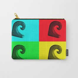 Pop Art Wave Carry-All Pouch