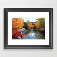 Fall in Whistler Framed Art Print