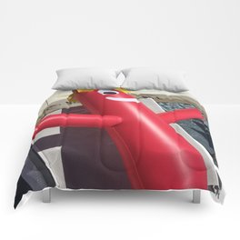 Car dealership dream come true! Comforters