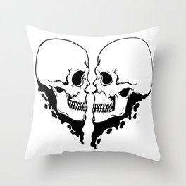 Are we better apart? Throw Pillow