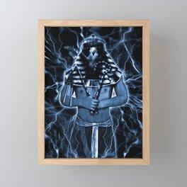 LORD HORUS Framed Mini Art Print