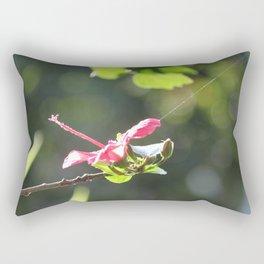 Tethered Hibiscus Rectangular Pillow