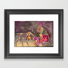Matador Framed Art Print