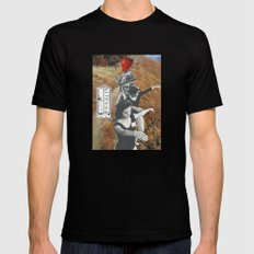 Trying To Make Sense Of It All MEDIUM Black Mens Fitted Tee