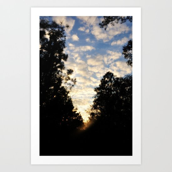 Future Skies Art Print