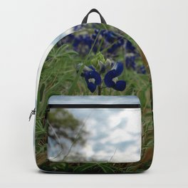 Blue Bonnet Madness Backpack
