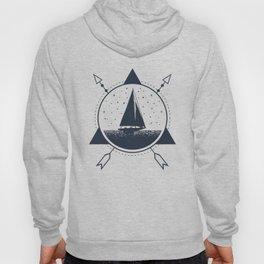 Adventure. Nautical. Ship Hoody