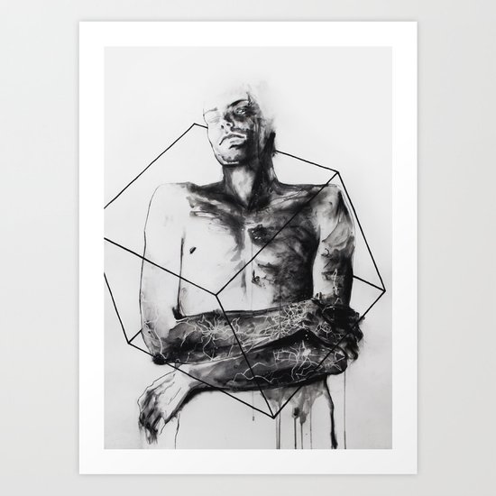 within the bounds of this single road Art Print
