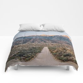 Road to the Mountains Comforters