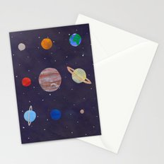 The 9 Planets! Stationery Cards