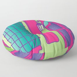 casita my home Floor Pillow