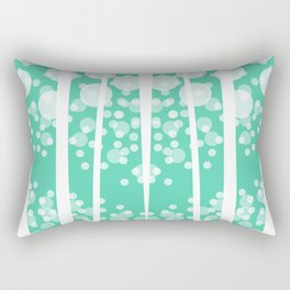 Flowing Polkadots #2 Rectangular Pillow