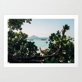 Ao Nang view Art Print
