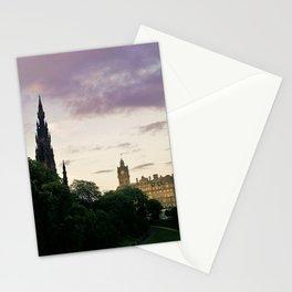 Dusk on Edinburgh Stationery Cards