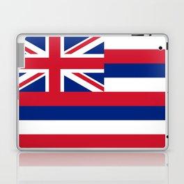 Hawaiian Flag, Official color & scale Laptop & iPad Skin
