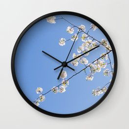 Sky Gazing Wall Clock