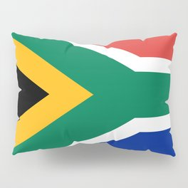 South African flag - high quality image Pillow Sham