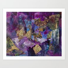 Drizzle Painting  Art Print