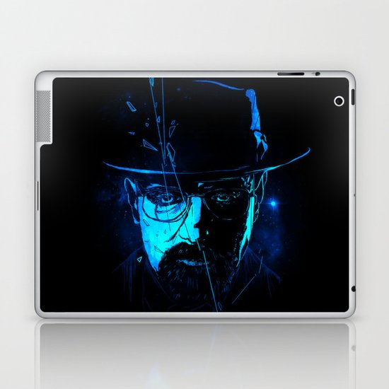 Mr. White (Crystal Blue) Laptop & iPad Skin