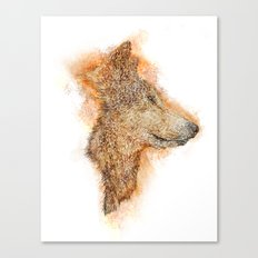 Wolf Flare Canvas Print