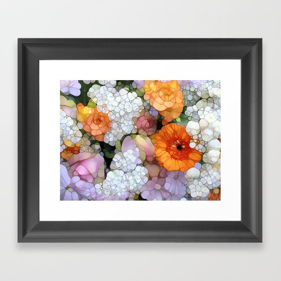 Joy is not in Things, it is in Us! Framed Art Print