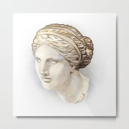 Aphrodite of Cnidus Metal Print