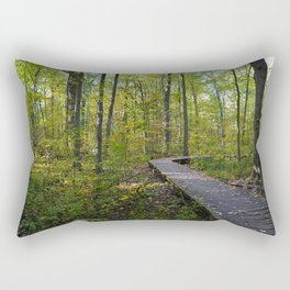 Maidstone conservation area in southern Ontario Rectangular Pillow