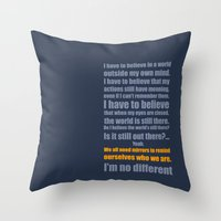 We All Need Mirrors Throw Pillow
