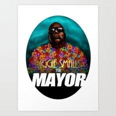 Biggie Smalls for Mayor Art Print