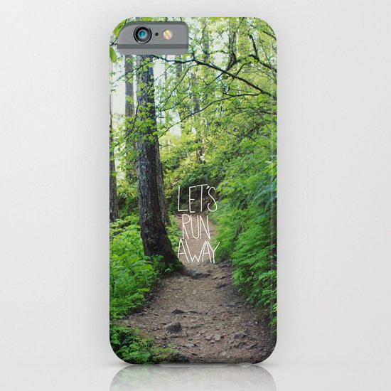 Let's Run Away VII iPhone & iPod Case