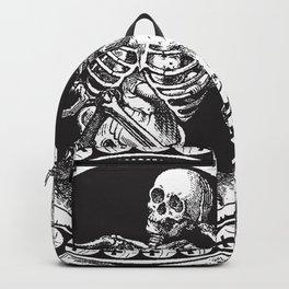 1861 Death Skeleton Black Backpack