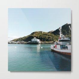 Norwegian fishing boats Metal Print