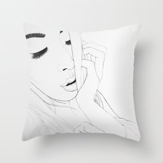 I used to know(illustration) Throw Pillow