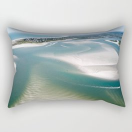Rich's Inlet at the North End of Figure 8 Island | Wilmington NC Rectangular Pillow