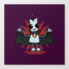 Ned the Vampire Canvas Print