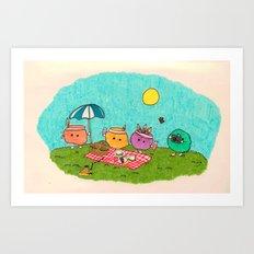 Pelu's Spring Art Print