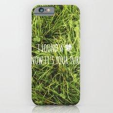 Four Leaf Clover Slim Case iPhone 6s