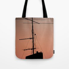 Antenna in its natural habitat Tote Bag