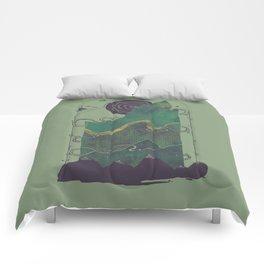 Northern Nightsky Comforters