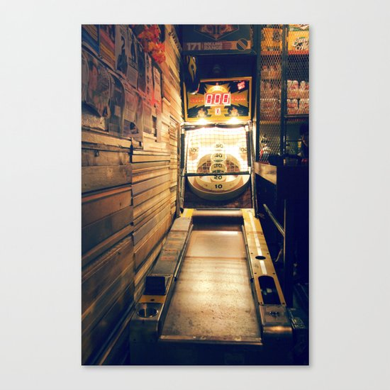 Meanwhile, Somewhere In Brooklyn... Canvas Print