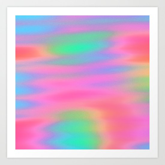Oh So Pretty! Art Print