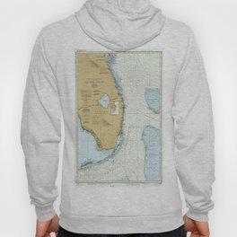 Florida Atlantic Coast Map (1982) Hoody