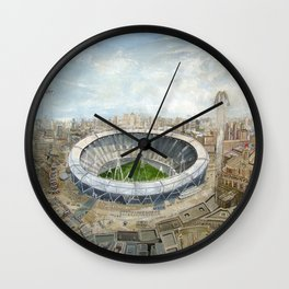 Olympic Stadium London  Wall Clock