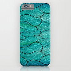 Sea Waves iPhone 6 Slim Case