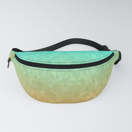 Blue and Orange Ombre Fanny Pack