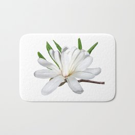 The Flower is the Star (Magnolia) Bath Mat