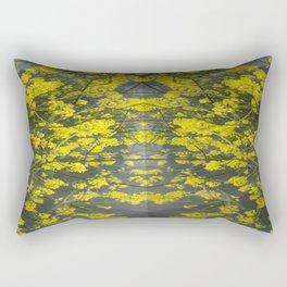 Mustard Rising Rectangular Pillow
